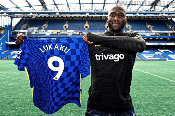 Chelsea have announced the numbers 9 for the new season is Lukaku
