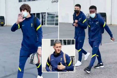 Spurs reveal clip of boarding Portugal without Kane. Tottenham Hotspur release a short video clipwhile boarding a flight to Portugal.The three new players in the team.